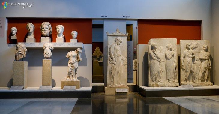 """Η ενότητα """"Στη Μακεδονία από τον 7ο αι. π.Χ. ως την ύστερη αρχαιότητα"""" του Αρχαιολογικό Μουσείο Θεσσαλονίκης"""