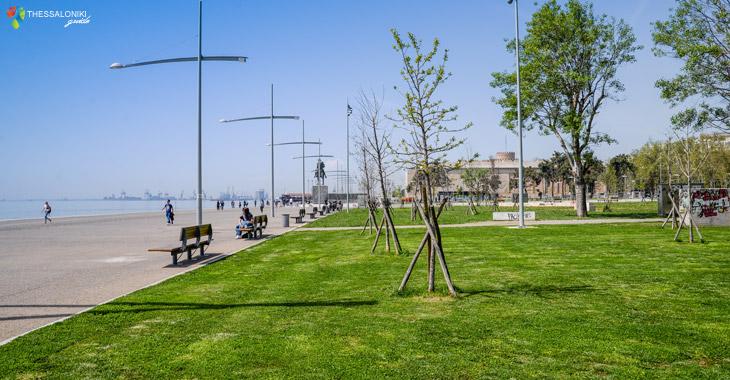 Πάρκο Μεγάλου Αλεξάνδρου στη Νέα Παραλία Θεσσαλονίκης