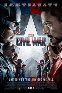 Αφίσα της ταινίας Captain America: Εμφύλιος Πόλεμος