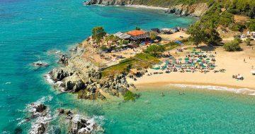 Ethnik Beach Bar στη Χαλκιδική
