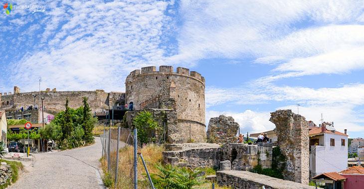 Πύργος στα Κάστρα της Θεσσαλονίκης