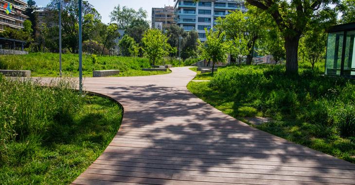 Κήπος των Εποχών στη Νέα Παραλία Θεσσαλονίκης