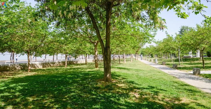 Κήπος του Ήχου στη νέα παραλία Θεσσαλονίκης