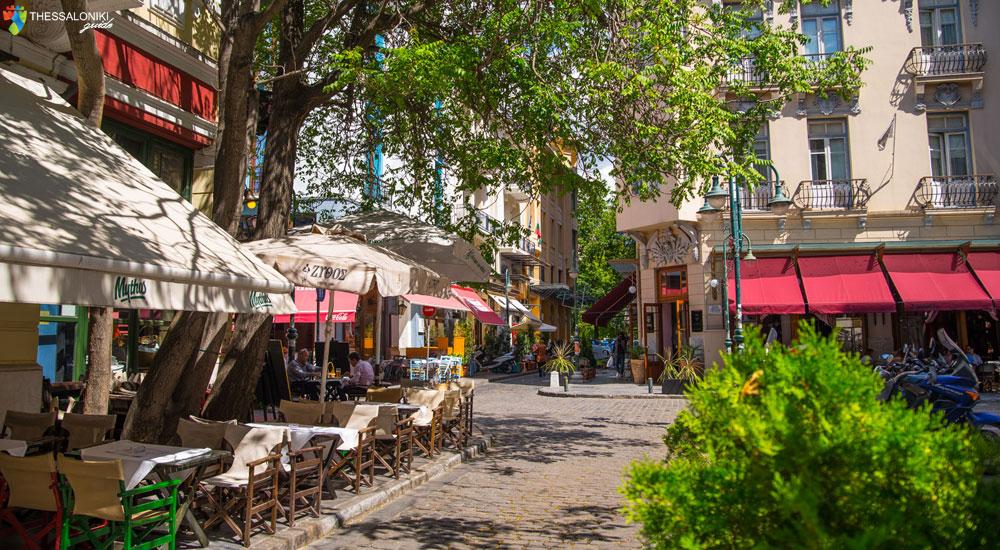 Καλοκαιρινές βόλτες στα Λαδάδικα