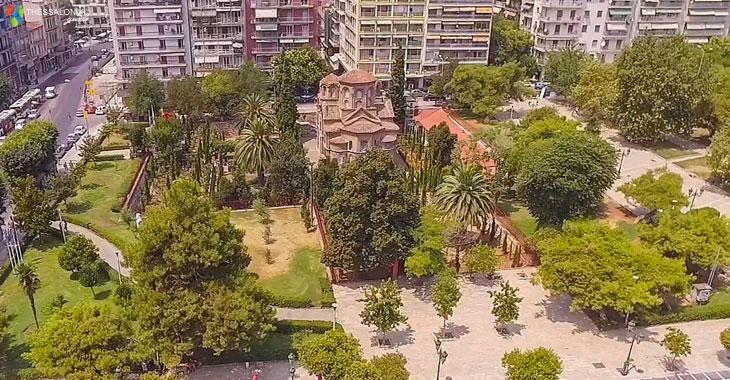 Παναγία Χαλκέων στην Πλατεία Αριστοτέλους