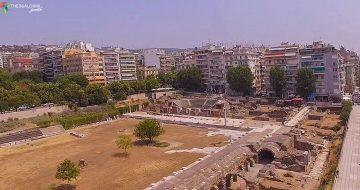 Ρωμαϊκή αγορά πάνω απο την Πλατεία Αριστοτέλους στη Θεσσαλονίκη