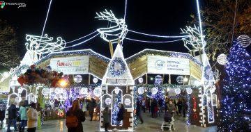 Ενα μοναδικό Χριστουγεννιάτικο χωριό στην Τούμπα