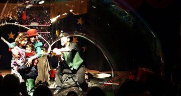La Petite Marguerite: Pro Carnival Bubble Show στο ΦΙΞ in art