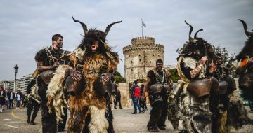 Εικόνες από την επέλαση των Κωδωνοφόρων στη Θεσσαλονίκη
