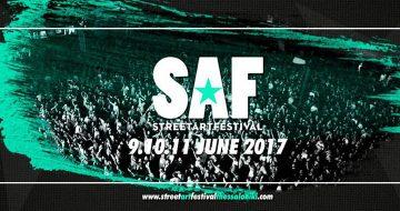 SAF: Thessaloniki Street Art Festival 2017