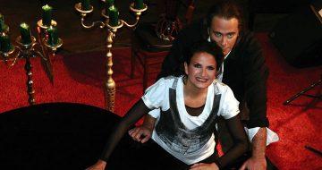 Άλκηστις Πρωτοψάλτη και Στέφανος Κορκολής στο Βασιλικό Θέατρο