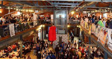 The Comic Con 3 στο λιμάνι της Θεσσαλονίκης