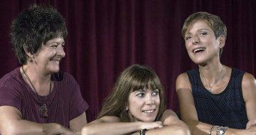 Γυναίκες: Φ. Βελεσιώτου, Α. Μουτσάτσου & Μ. Αλικάκη στο Φεστιβάλ Μονής Λαζαριστών