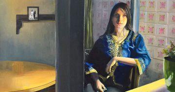 """""""Τόπος και Παρουσία"""": Έκθεση ζωγραφικής της Δήμητρας Ξενάκη"""