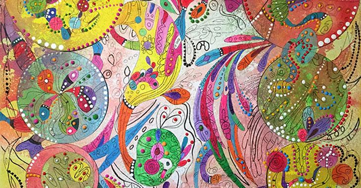 Έκθεση ζωγραφικής της Evi Kirma