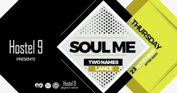"Hostel 9 pres.""Soul Me"" vol.2 /w Two Names & Lance"