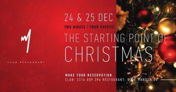 The starting point of Christmas στο Mandon