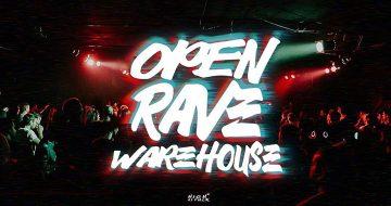 OPEN RAVE warehouse στο Block 33