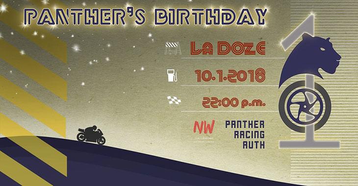 Panther's Birthday στο La Doze
