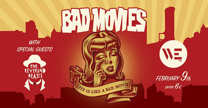 Bad Movies live στο WE