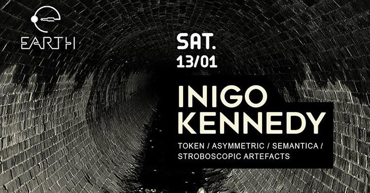 Inigo Kennedy στο Earth Club