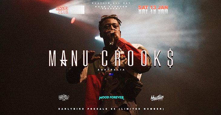 Manu Crooks Live στο Μύλος Club