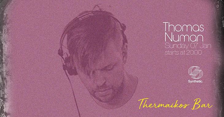 Thomas Numan στο Θερμαϊκός Bar