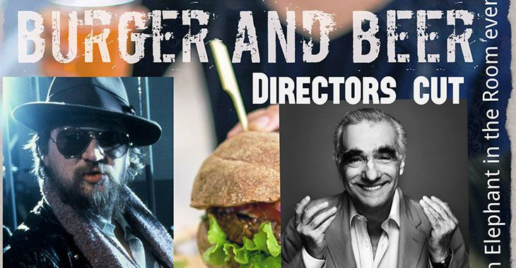 Burger and beer with the elephant - Directors cut