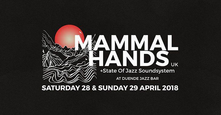 Μammal Hands live στο Duende Jazz