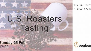 U.S. Roasters Coffee Tasting στο Peaberry