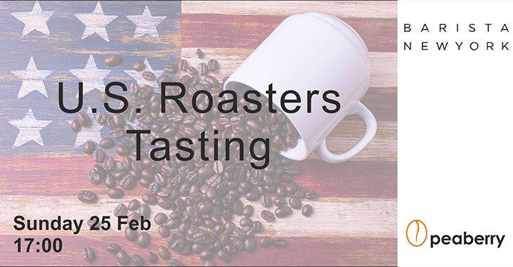 U.S. Roasters Coffee Tasting στο Peaberry