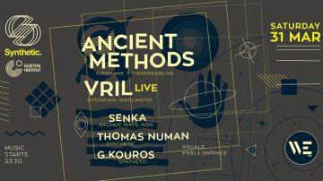 Ancient Methods και Vril-live στο WE