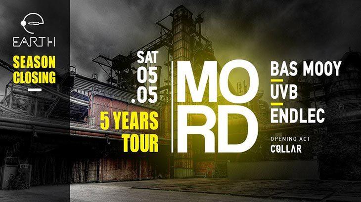 MORD - 5 Years Tour στο Earth Club
