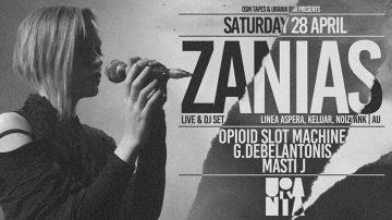 Zanias Live & DJ set στο Urania Bar