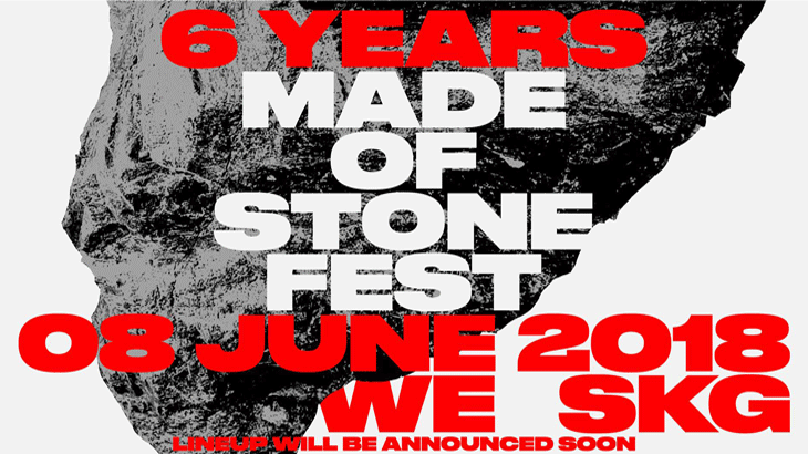 6 years Made of Stone Festival στο WE