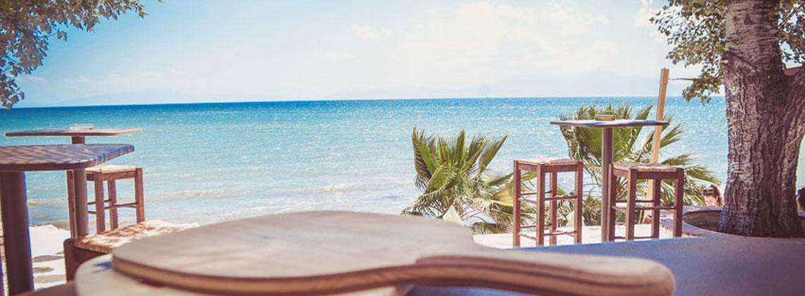 Beach Bars στη Χαλκιδική