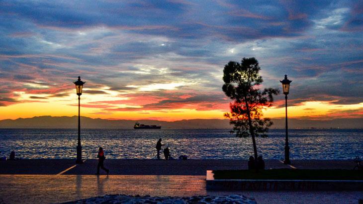 Ηλιοβασίλεμα -Παραλία