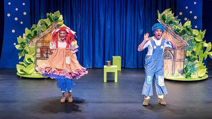 Χένσελ και Γκρέτελ - Η παιδική παράσταση της Κάρμεν Ρουγγέρη