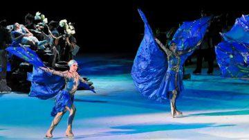 Χορός στον πάγο με τα αστέρια του καλλιτεχνικού πατινάζ