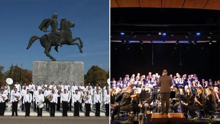 Μπάντα του Πολεμικού Ναυτικού και Φιλαρμονική Ορχήστρα Δήμου Καλαμαριάς