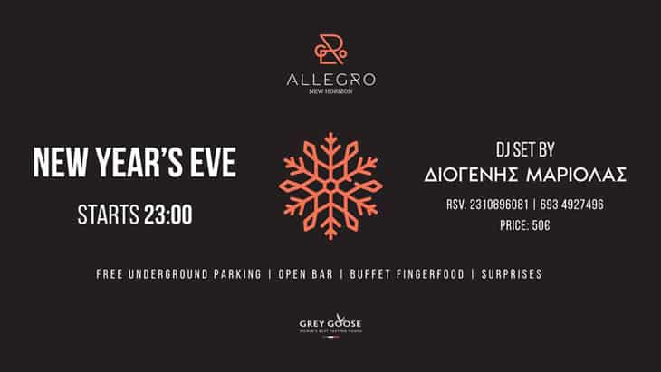 New Year's Eve at Allegro