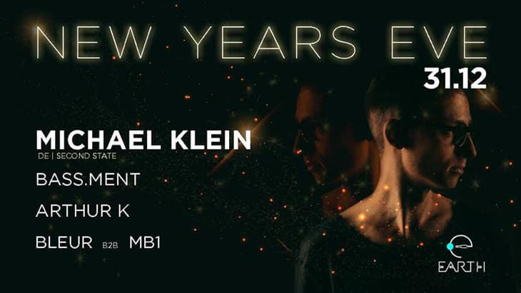 """Το EARTH CLUB New Years Eve παρουσιάζει: Michael Klein (De/ Second State). Μετά την αλλαγή του χρόνου ανοίγουμε τις πόρτες μας για να σας υποδεχτούμε παρέα με ένα πολύ ιδιαίτερο, για τους ήχους του, καλεσμένο μας, για πρώτη φορά στην Ελλάδα, τον Michael Klein. On New Year's Eve, we open our doors to you, on 00:30, so as to welcome together, a very special for his sounds, guest: Michael Klein. Support act: Billy Bass Ment // Bleur // MB1official // Arthur k. (Arthouros Anastasiadis) Doors open: 00:30 Τιμή εισόδου// Entrance price: 10 euro. Venue: Earth Club // Frixou 5 // Thessaloniki Βιογραφικό: Michael Klein Οι σκοτεινοί αλλά groovy ήχοι του, είναι αυτό που χαρακτηρίζει τον μοναδικό Michael Klein. Γεννημένος στη Φρανκφούρτη, και έχοντας ανατραφεί από τους ήχους της Cocoon και του Robert Johnson, ο Michael βρήκε γρήγορα το πάθος του δημιουργώντας τον δικό του ιδιαίτερο ήχο. Οι παραγωγές του αναγνωρίζονται και υποστηρίζονται από καλλιτέχνες όπως: Pan-Pot, Dubfire, Laurent Garnier, Chris Liebing, Speedy J, Danny Tenaglia, Drumcell, Carlo Lio και πολλοί άλλοι. Ο Michael είναι γνωστός για τα δυνατά, γεμάτα ενέργεια set του κρατώντας το κοινό σε μια μουσική εφορία γεμάτη ένταση. Biography: Michael Klein His dark but groovy sounds are what characterizes the unique Michael Klein. Born in Frankfurt, and having been brought up by the sounds of Cocoon and Robert Johnson, Michael quickly found his passion creating his own special sound. His productions are recognized and supported by artists such as: Pan-Pot, Dubfire, Laurent Garnier, Chris Liebing, Speedy J, Danny Tenaglia, Drumcell, Carlo Lio and many others. Michael is known for his loud, energy-packed set & for keeping the audience in a musical trip full of tension. ΠΛΗΡΟΦΟΡΙΕΣ & ΚΡΑΤΗΣΕΙΣ // FOR MORE INFO & RESERVATIONS: 6944 676183 // 6947 004100. Τιμή φιάλης/ Bottle price 110 ευρώ ανά 4 άτομα. ... """"Earth"""" is our paradise and it sounds electronic!"""