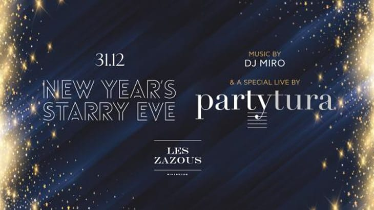New Year's Starry Eve Partytura Live at Les Zazous