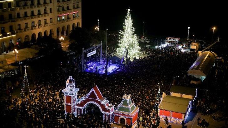 Πλατεία Αριστοτέλους Χριστούγεννα 2018