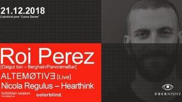Colorblind pres. Roi Perez (Berghain/PanoramaBar) - Uberdooze