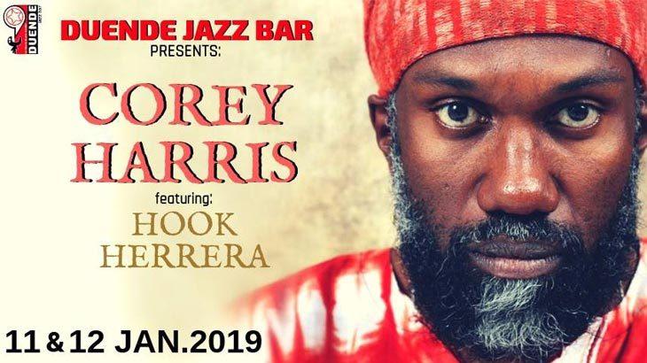 Corey Harris & Hook Herrera στο Duende Jazz Bar
