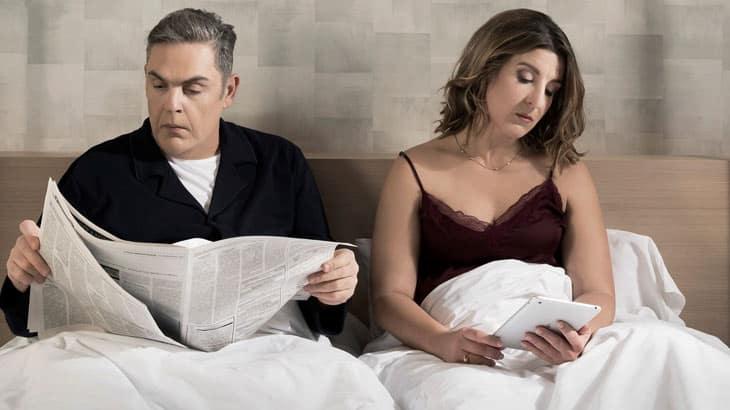 «Σκηνές από έναν γάμο» με τον Αντώνη Λουδάρο και την Παυλίνα Χαρέλα