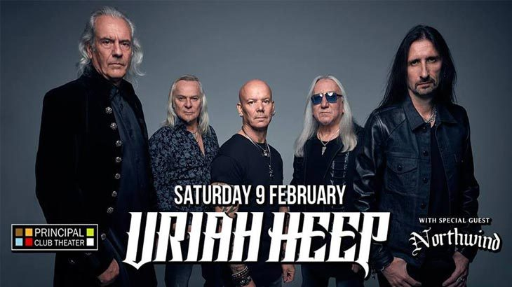 Uriah Heep Live στο Principal Club Theater
