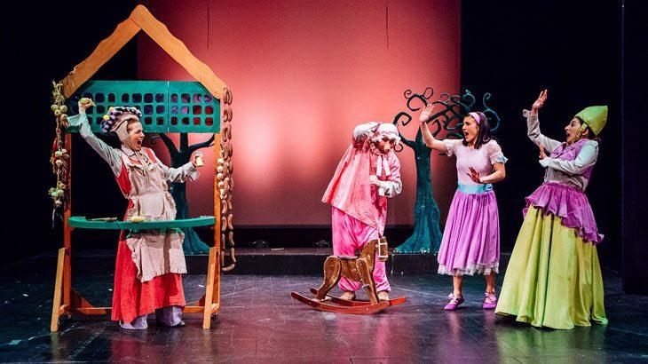 «Η Αλίκη στη χώρα των θαυμάτων» στο Θέατρο Αυλαία