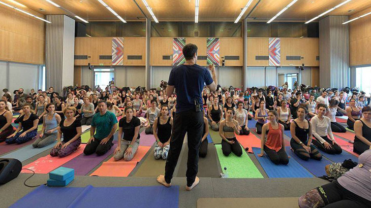 Το 8ο Thessaloniki Yoga Festival τον Σεπτέμβριο στο Μέγαρο